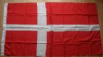 Denmark Large Country Flag - 3' x 2'.